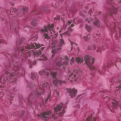 Tonga Batiks - Orchid Sunflower Passion Yardage