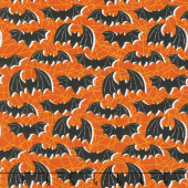 Bats and Black Cats - Night Flight Orange Yardage