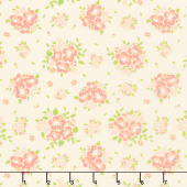 Apricot & Ash - Spring Blooms Baby's Breath Yardage