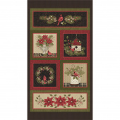 Winterberry - Cardinal Multi Panel