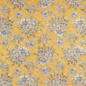 Show Me the Honey - Floral Yellow Yardage