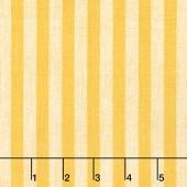 Follow the Sun - Stripe Cream/Yellow Yardage