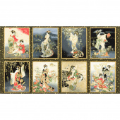 Imperial Collection 16 - Geishas Onyx Metallic Panel