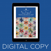 "Digital Download - Star in a Hexagon 1 3/4"" Quilt Pattern by Daisy & Grace for Missouri Star"