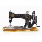 Antique Sewing Machine Watercolor Paint Kit