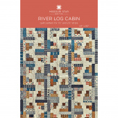 River Log Cabin Quilt Pattern by Missouri Star