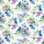 Bloom Bloom Butterfly - Meadowland Iris Yardage