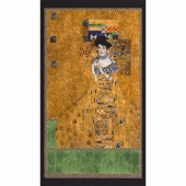 Gustav Klimt - Lady Gold Metallic Panel