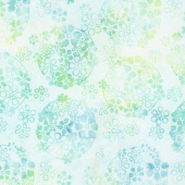 Salt Water Taffy Batiks - Ditzy Daisy Angelfish Yardage