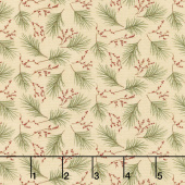 Winter Manor - Mini Pine Buff Yardage