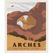 National Parks - Arches Poster Panel