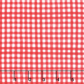 Summertime - Gingham Red Yardage