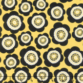 Sunny Days - Packed Daisies Yellow Yardage