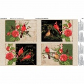 Christmas in the Wildwood - Placemat Multi Panel