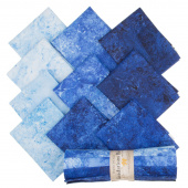 Stonehenge Gradations Brights - Indigo Rolls (Fat Quarter Bundle)