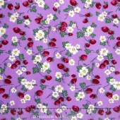 Everything But the Kitchen Sink 2016 - Berries and Blooms Lavender Yardage