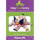 Petunia Piglet Funky Friends Factory Pattern