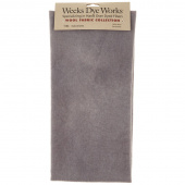 Weeks Dye Works Hand Over Dyed Wool Fat Quarter - Solid Galvanized