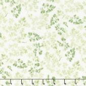 Sketchbook Garden - Leaves Green Yardage