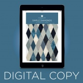 Digital Download - Simple Diamond Quilt Pattern by Missouri Star