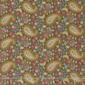 Baltimore House - Paisley Brown Yardage