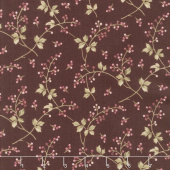 Burgundy & Blush - Berry Vine Burgundy Yardage