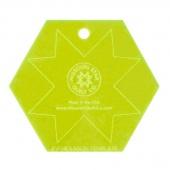 "Missouri Star Special Edition 3.5"" Hexagon Template"