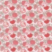 Flea Market - Roses Frosting Yardage