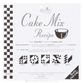 Cake Mix Recipe 1 by Miss Rosie's Quilt Co