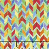 Loca Linda - Chevron Green Yardage