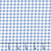 Sweet Harmony - Checks Blue Yardage