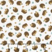 Camp - A - Long Critters - Hedgehogs Ecru Yardage