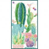 Sun N' Soil - Cactus Ivory Panel