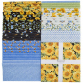 "My Sunflower Garden 10"" Squares"