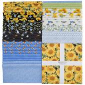 """My Sunflower Garden 10"""" Squares"""