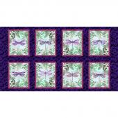Dragonfly Garden - Dragonfly Blocks Royal Panel