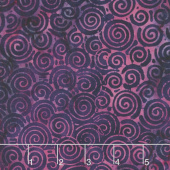"Tonga Batiks - Jazz Orchid 106"" Wide Backing"