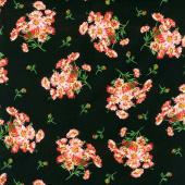 Prose - Daisy Bouquets Black Yardage