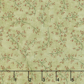 Once Upon A Memory - Berry Branches Eucalyptus Yardage
