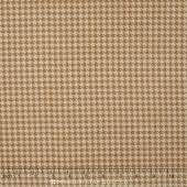 Arabella - Shaded Houndstooth Tan Yardage