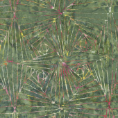 Tonga Batiks - Posey Art Deco Sherwood Yardage