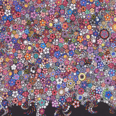 Effervescence - Dots Bright Digitally Printed Yardage