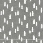 Wild at Heart - Trees Gray Yardage