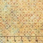 Stonehenge - Solstice Celtic Knot Circles Rust Yardage