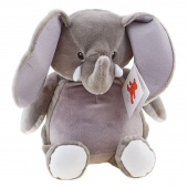 Embroider Buddy Elford Elephant - Grey