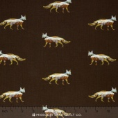 Alpine - Foxy Fields Dark Brown Yardage