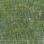 Artisan Batiks - Cornucopia 9 Crosshatch Olive Yardage