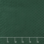 "Cuddle Embossed Dimple - Evergreen 60"" Minky Yardage"