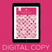 Digital Download - From the Heart Quilt Pattern by Missouri Star