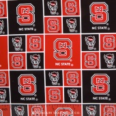 College - North Carolina State University Allover Yardage